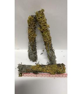 Sahumerio - Mixto (Ruda, Salvia y Romero) 14 cm (cada ramillete)
